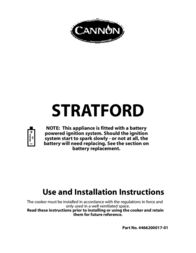 Cannon STRATFORD 10531G User Manual