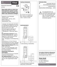 Eltako Multiway switch (analog) 1-pin 16 A 1 maker 230 Vac 23100934 23100934 Data Sheet