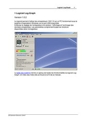 Dostmann Electronic Software with USB-cable SoftwareCompatible with LOG100, LOG110 311041 User Manual
