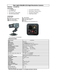 COP-USA cc15nv-sl Specification Guide