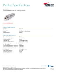 Andrew L4TNF-PS User Manual