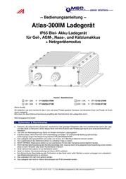 Mec Energietechnik 171-06203-570IM Lead Acid Battery Charger, For V Batteries 171-06203-570IM User Manual