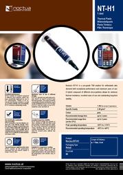 Noctua NT-H1 003-688 Leaflet