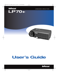 Infocus LP70+ User Guide