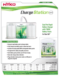 Nyko Charge Station 360 86025 Leaflet