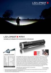 Led Lenser M7 8307 Data Sheet