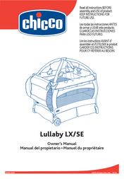 Chicco Lullaby LX/SE User Manual