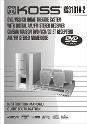 Koss KS3101A-2 User Manual