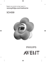 Philips AVENT Baby Bath and Room Thermometer SCH550/20 User Manual