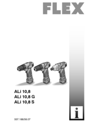 Flex ALi 10,8 G 338.583 User Manual