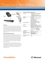 Microsemi PD-AS-951/12-24 Leaflet