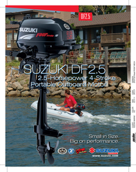 Suzuki DF2.5 Product Manual
