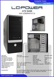 LC-Power 648B 648B O.N Leaflet