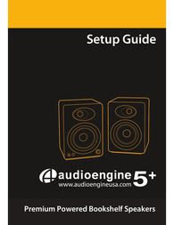 Audioengine A5+ Owner's Manual