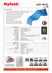 KeySonic ACK-109 EL 18.02.3039 Leaflet