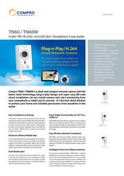 Compro TN60W Data Sheet