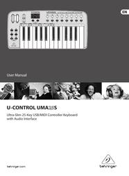 Behringer UMA25S User Manual