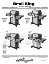 Broil King SOVEREIGN 9867-84C User Manual