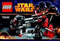 Lego Starwars LEGO STAR WARS 75034 DEATH STAR TROOPERS 6060916 User Manual
