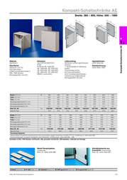 Rittal AE 1050.500 Data Sheet