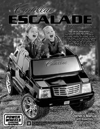 Cadillac ESCALADE H0410 User Manual