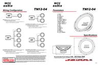MTX TN12-04 Leaflet