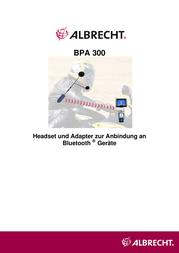 Albrecht BPA 300 15510 User Manual