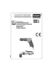 Hazet Compressed air drill 9030-1 9030-1 Data Sheet
