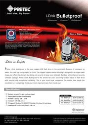 Pretec i-Disk Bulletproof 32GB PC2B32G Leaflet