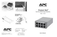 APC PROTECTNET RS232 X 4 P232-4 Leaflet