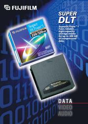 Fujifilm Super DLT 160/320Gb 43489 Leaflet