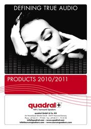Quadral Quintas 6000 155440 User Manual