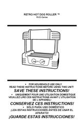 Nostalgia Electrics Retro RHD-400 User Manual