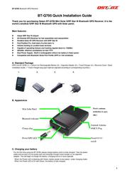 Qstarz bt-q795 Installation Instruction