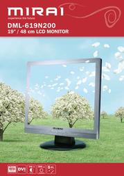"Mirai 19"" LCD Monitor DML-619N200 Leaflet"