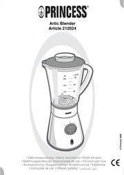 Princess Arctic Blender 212024 User Manual