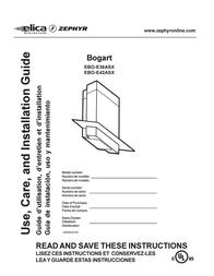 Zephyr EBO-E42ASX User Manual