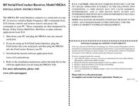 X10 mr26a Installation Instruction