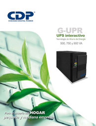 CDP G-UPR 506 User Manual