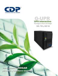 CDP G-UPR 506 Manual Do Utilizador