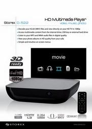 Storex D-522, 1TB CD17014 Leaflet