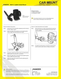 Amzer AMZ20601 Leaflet