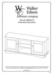 Walker WQ60C73TB User Manual