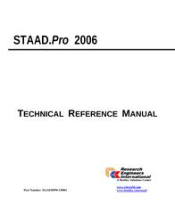 Bentley 2006 User Manual