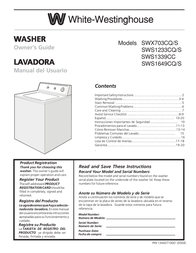 White Westinghouse SWS1649CQ/S User Manual