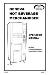 Geneva Lab FRESH BREW 3205 User Manual