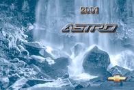 Chevrolet Astro 2001 User Manual