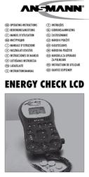 Ansmann ENERGY CHECK LCD 4000392 User Manual