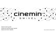 WowWee cinemin swivel Quick Setup Guide