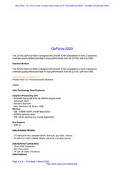 Zotac ZT-52FA121-HSS Leaflet